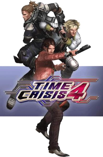 Time Crisis 4 Flyer