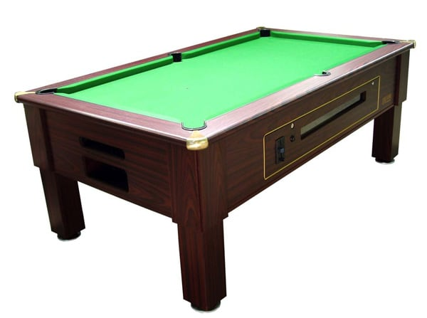 Prime Coin Operated Pool Table - 6ft, 7ft | Primo Coin