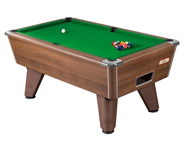An image of Supreme Winner Pool Table: Walnut - 6ft, 7ft