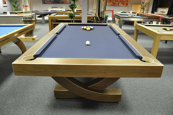 Designer Billiards Arc Pool Table - End