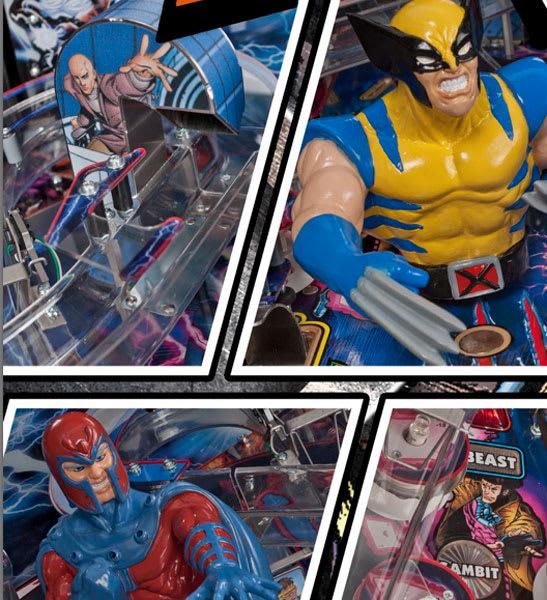 X-Men Wolverine Pinball Details