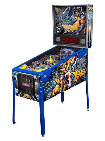 An image of Stern X-Men Wolverine Pinball Machine