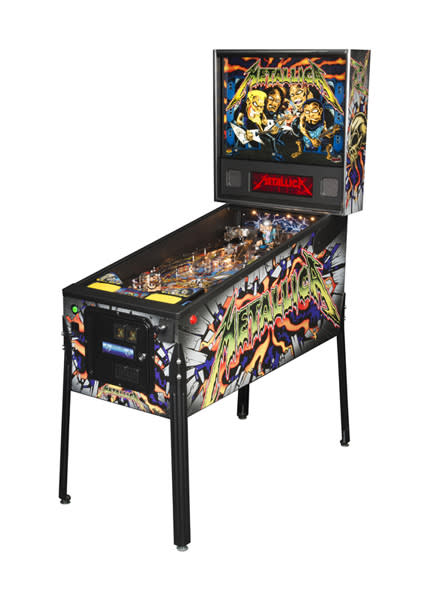 An image of Metallica Pro Pinball Machine