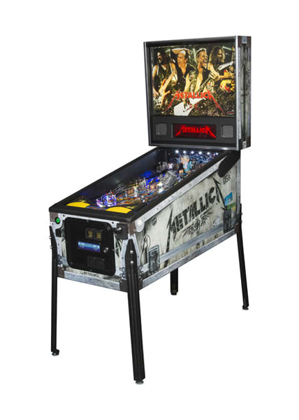 An image of Metallica Premium Pinball Machine