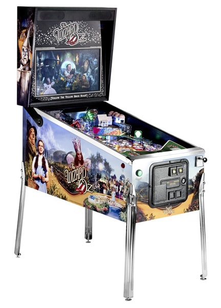 Wizard of Oz Pinball Machine Jersey Jack Sale Sell Buy Home Leisure Direct