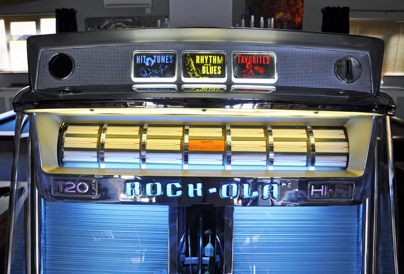 Rock-Ola - Vintage - Jukebox - 1468 - Tempo 1