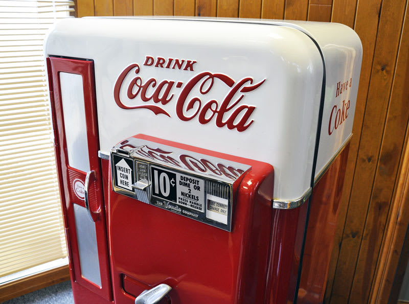 Coca - Cola - Machine - Vintage - Vendo - 56
