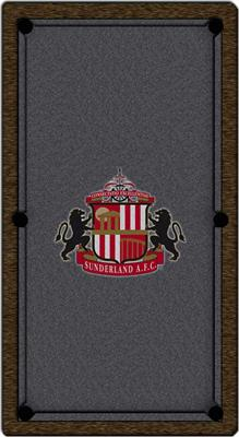 Sunderland Pool Table Cloth - Design 3 - 7ft