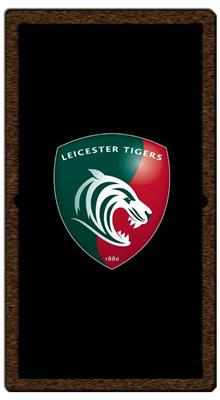 Leicester Tigers Pool Table Cloth - Design 1 - 7ft