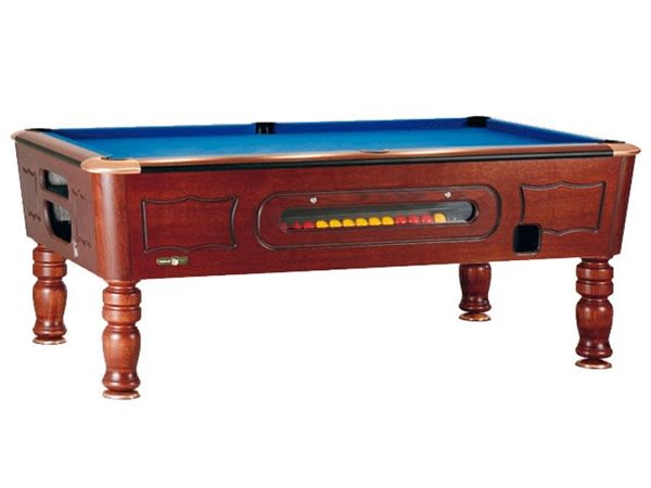 An image of Sam Balmoral Coin-Op Pool Table - 6ft, 7ft