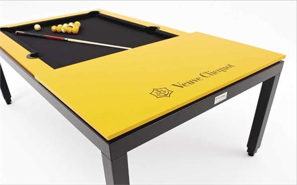 Aramith Fusion Veuve Clicquot Pool Dining Table - 7.5ft