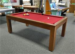 Billards Montfort Lewis Medium Dark Oak Pool Table