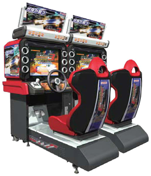 An image of Wangan Midnight Maximum Tune 3 Twin (Refurbished)