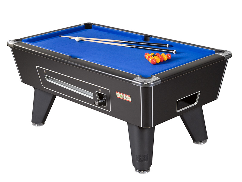 Supreme Winner Pool Table: All Finishes: All Finishes - 6ft, 7ft, 8ft